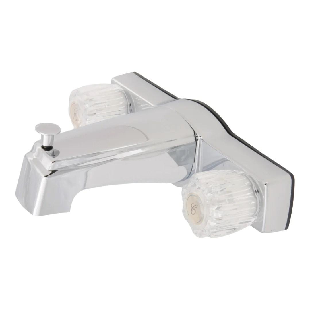 8 chrometub shower diverter faucet
