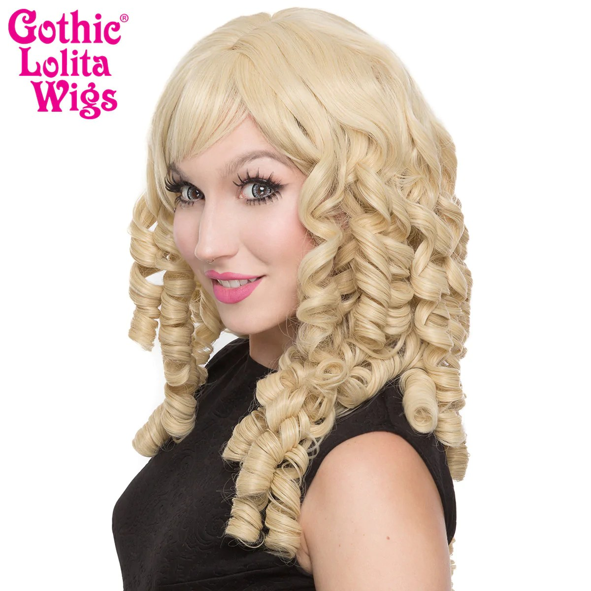 Gothic Lolita Wigs Ringlet Redux Collection Blonde