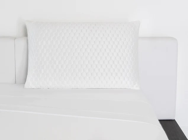 luxury cooling memory foam pillow