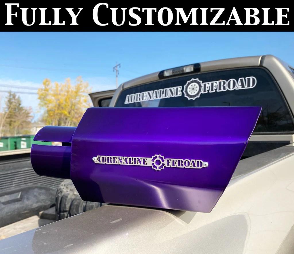 custom exhaust tips adrenaline