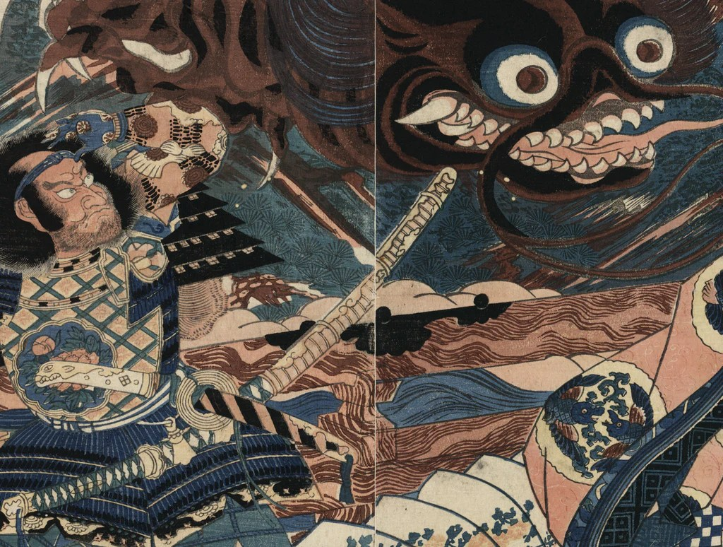 Using 19th Century Japanese Prints As Wallpaper Eazywallz