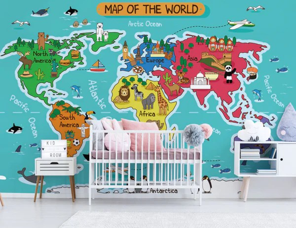15 Cute Wall Mural Ideas To Inspire Your Next Kid S Room Makeover Eazywallz