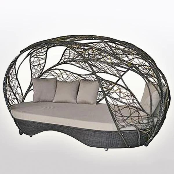 outdoor furniture canopy bed zeal