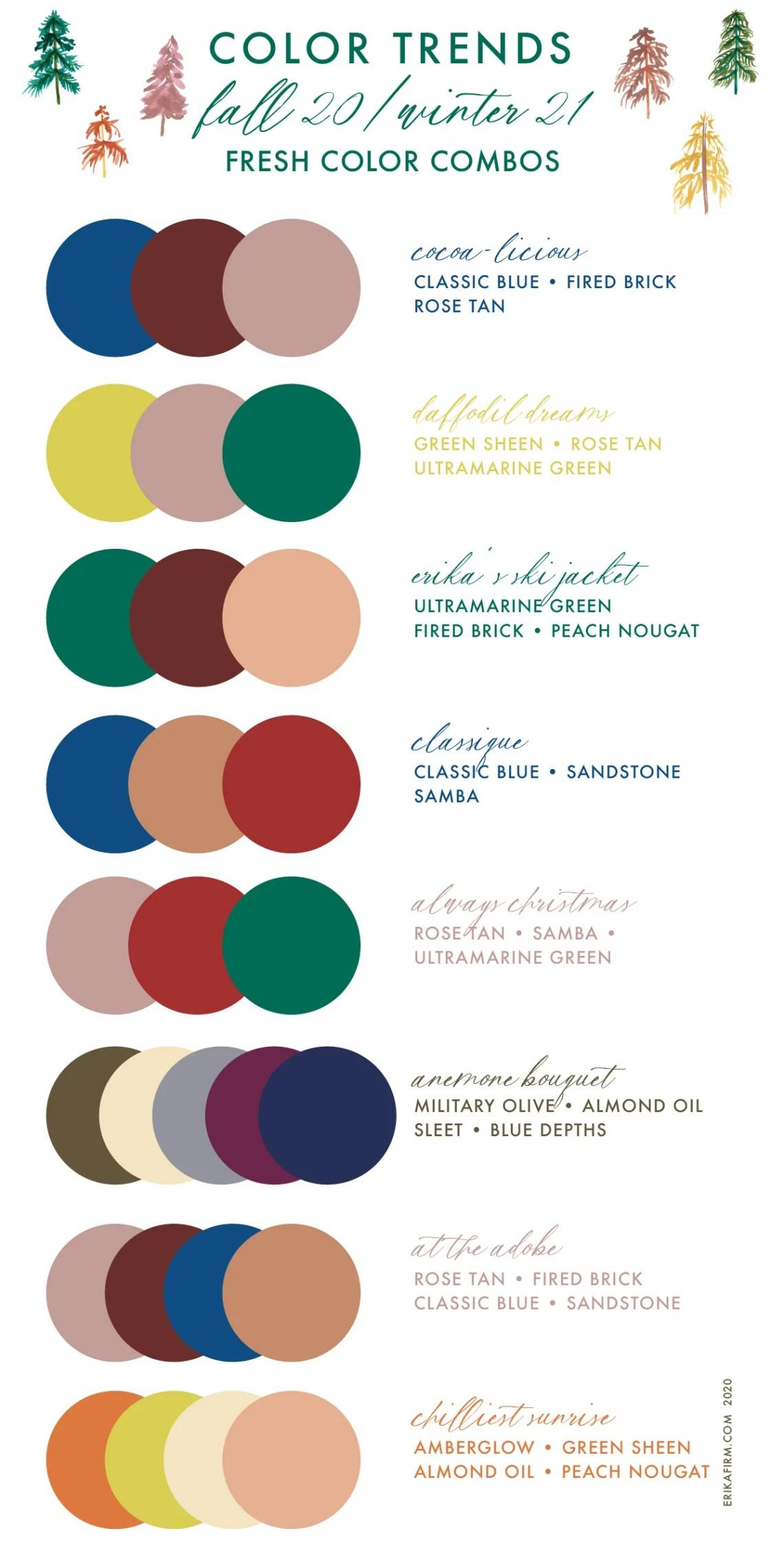Pantone 2021 Color Palette - Fashion Color Trend Report ...