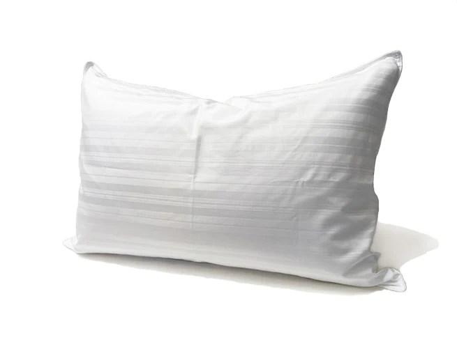 down around damask pillow