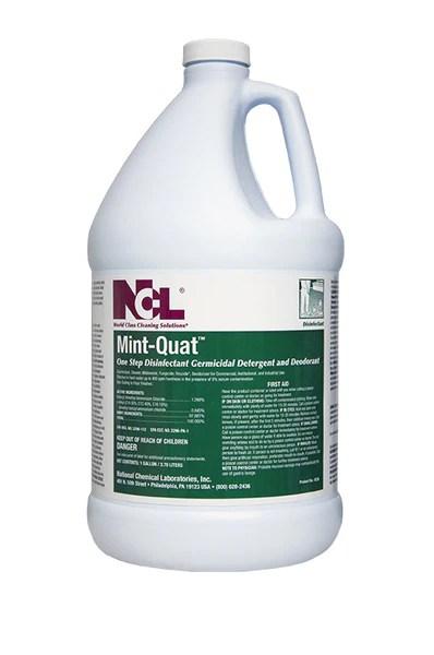 Disinfect Quot Mint Quat Quot Disinfectant Cleaner Croaker Inc