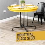 Blackjack Kitchen Table By Pipe Decor Pipe Decor Com