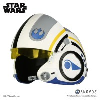 #COSPLAY | #STARWARS – #ANOVOS - Poe Dameron Blue Squadron Helmet – Coming soon…