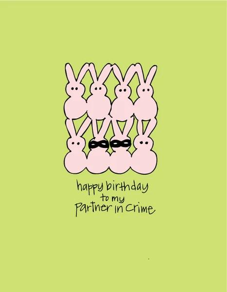 My Partner Happy Crime Birthday