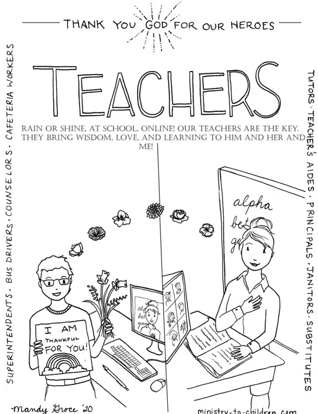 Back To School Coloring Pages (FREE) download only – The Sunday