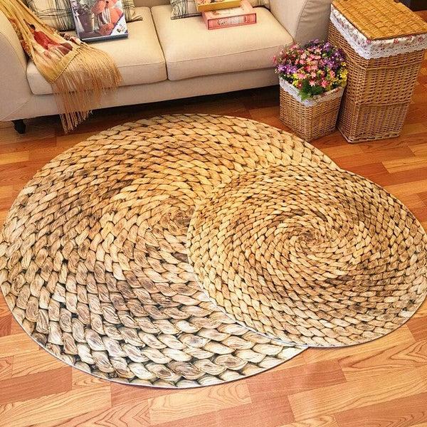 grand tapis rond salon