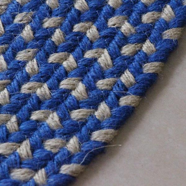 tapis en corde rond