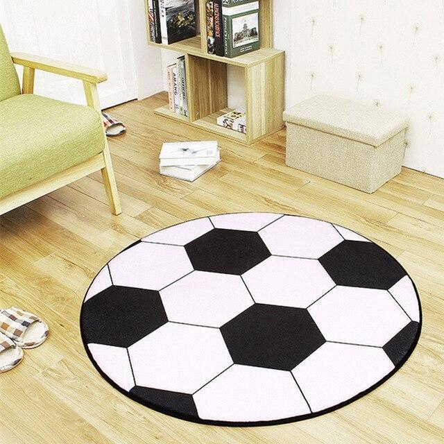 tapis rond ballon de foot