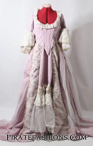 Rose Cinderella Gown Pirate Fashions
