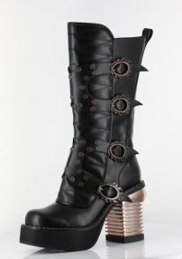 Harajuku Black Boots