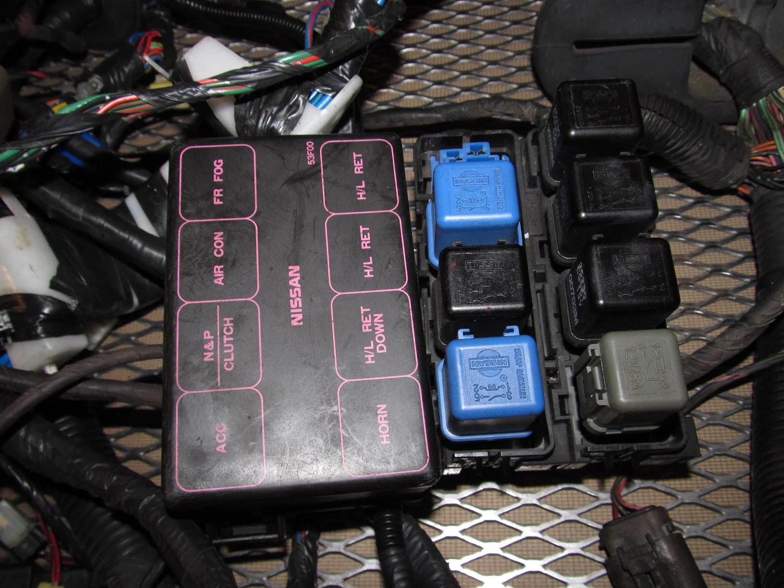91 92 93 94 Nissan 240SX OEM Fuse Box Wiring Harness – Autopartone