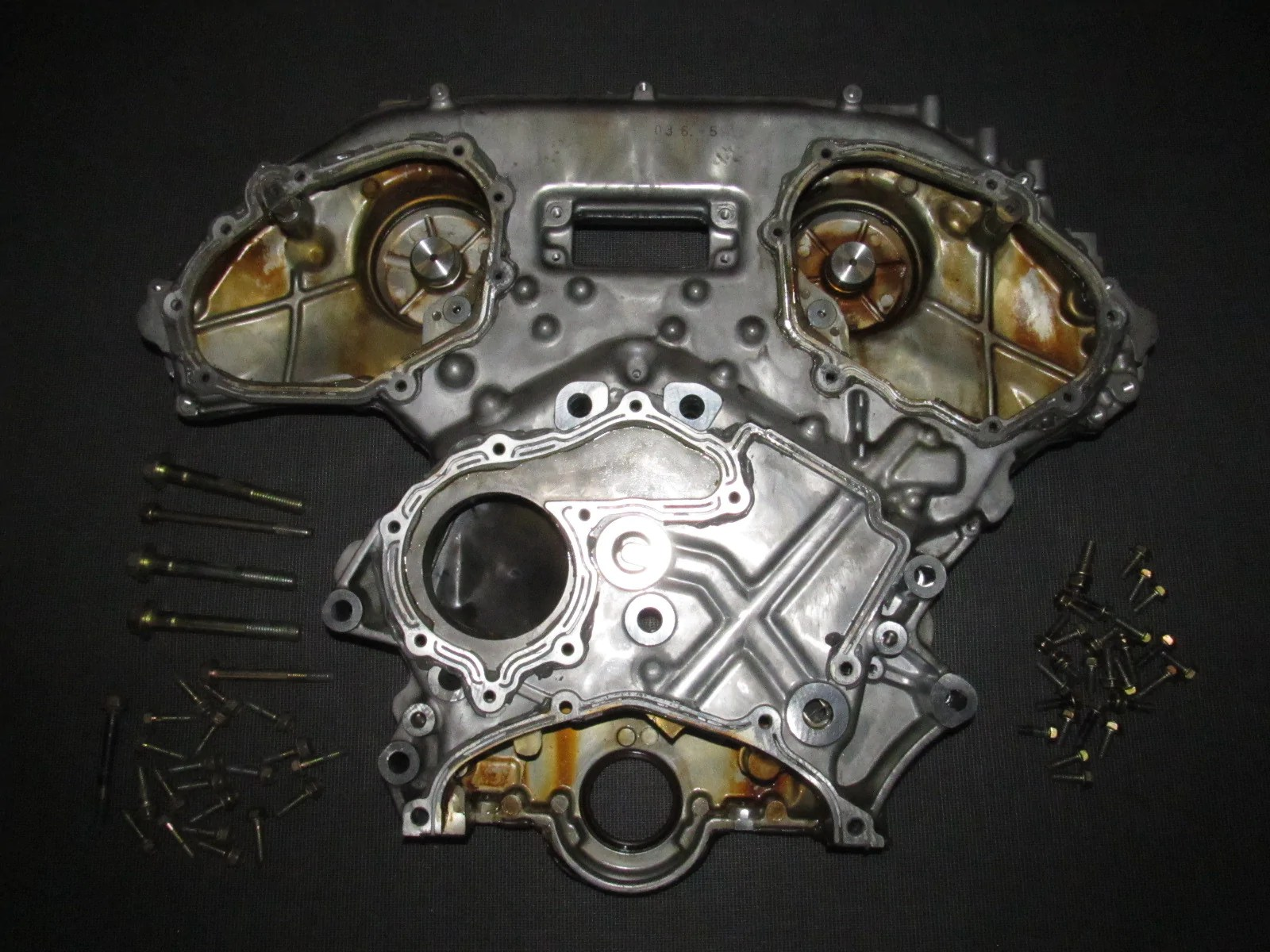 0304 Infiniti G35 Sedan OEM Engine Timing Chain Cover Assembly – Autopartone