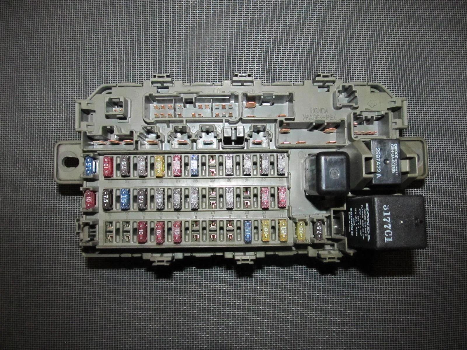 97 98 Honda Civic Fuse Diagram