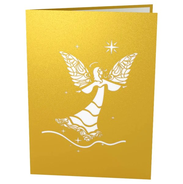 3D Angel Pop Up Christmas Card Lovepop