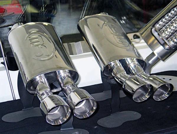 mufflers and catalytic converter