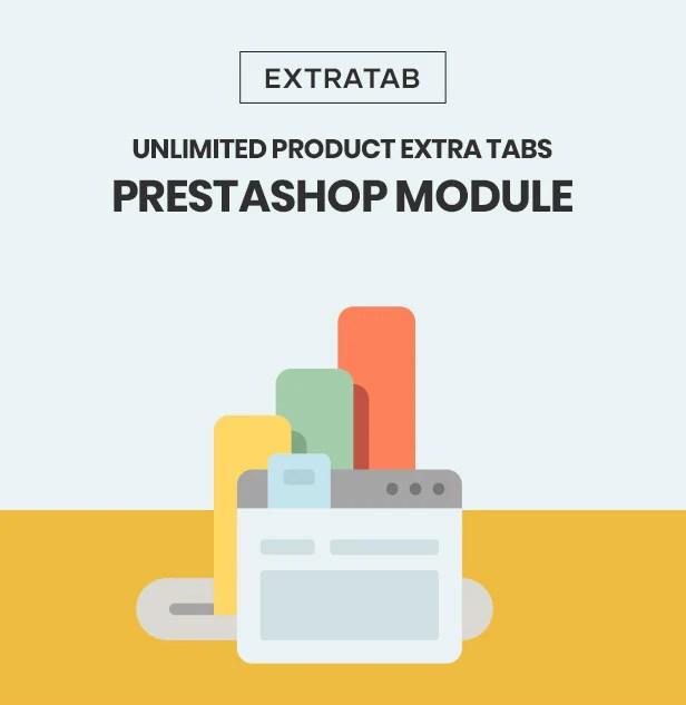 Unlimited Product Extra Tabs Prestashop Module