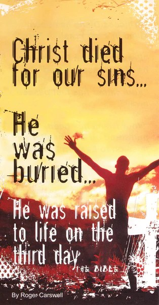 Christ Died For Our Sins Tract Day One Publications