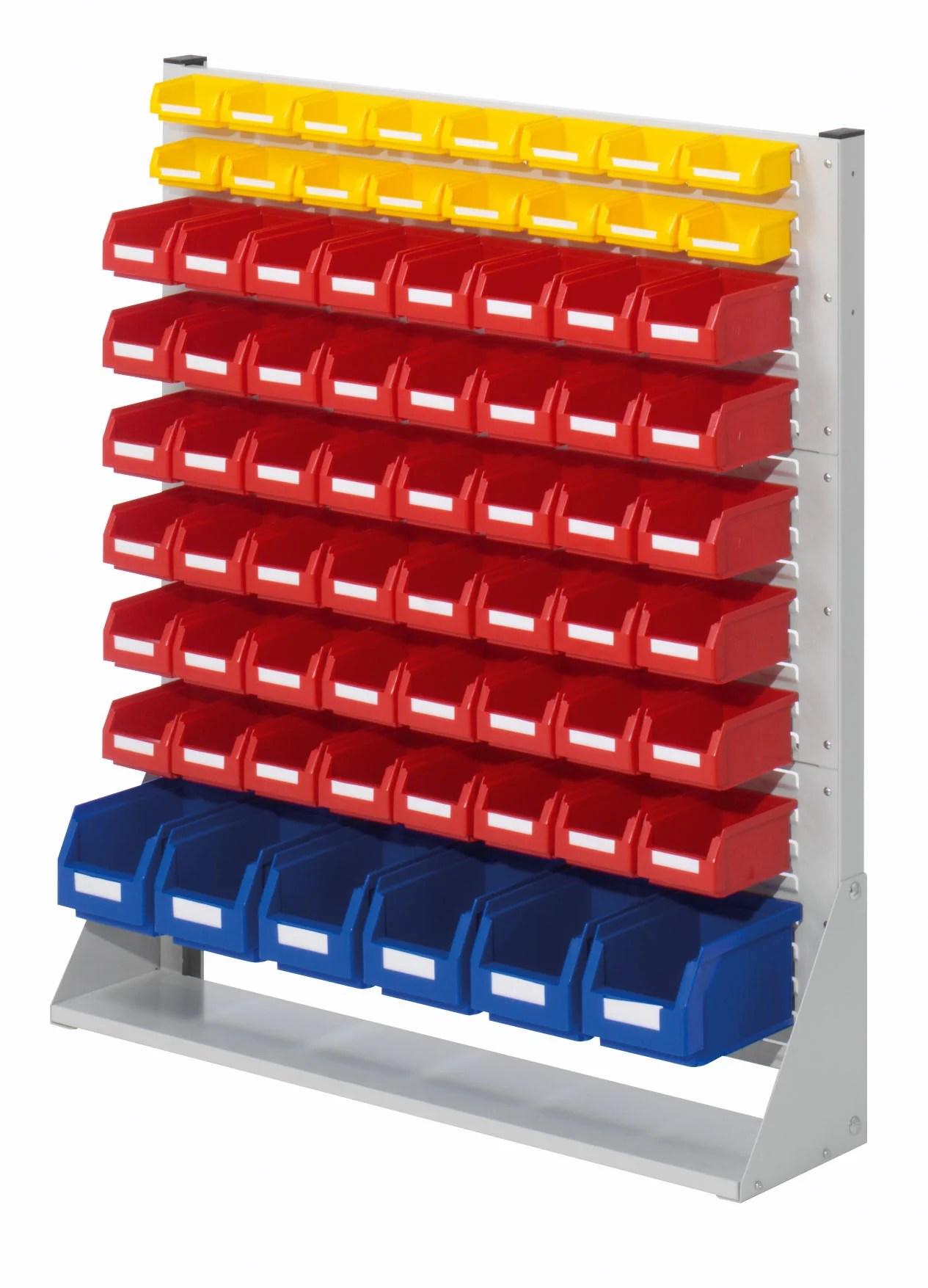 parts bins storage racks