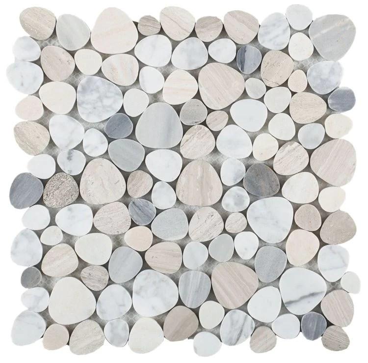 elysium tiles aphrodite blue 12 x 12 mosaic tile