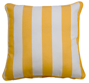 koblenz yellow small throw cushion