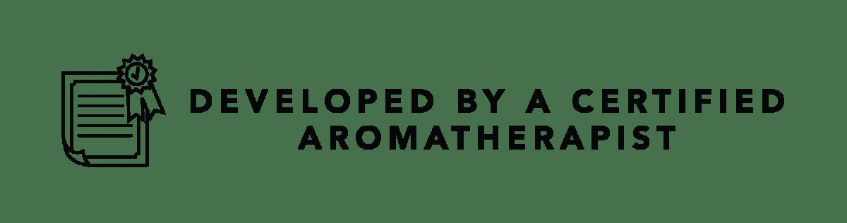Developed by an aromatherapist