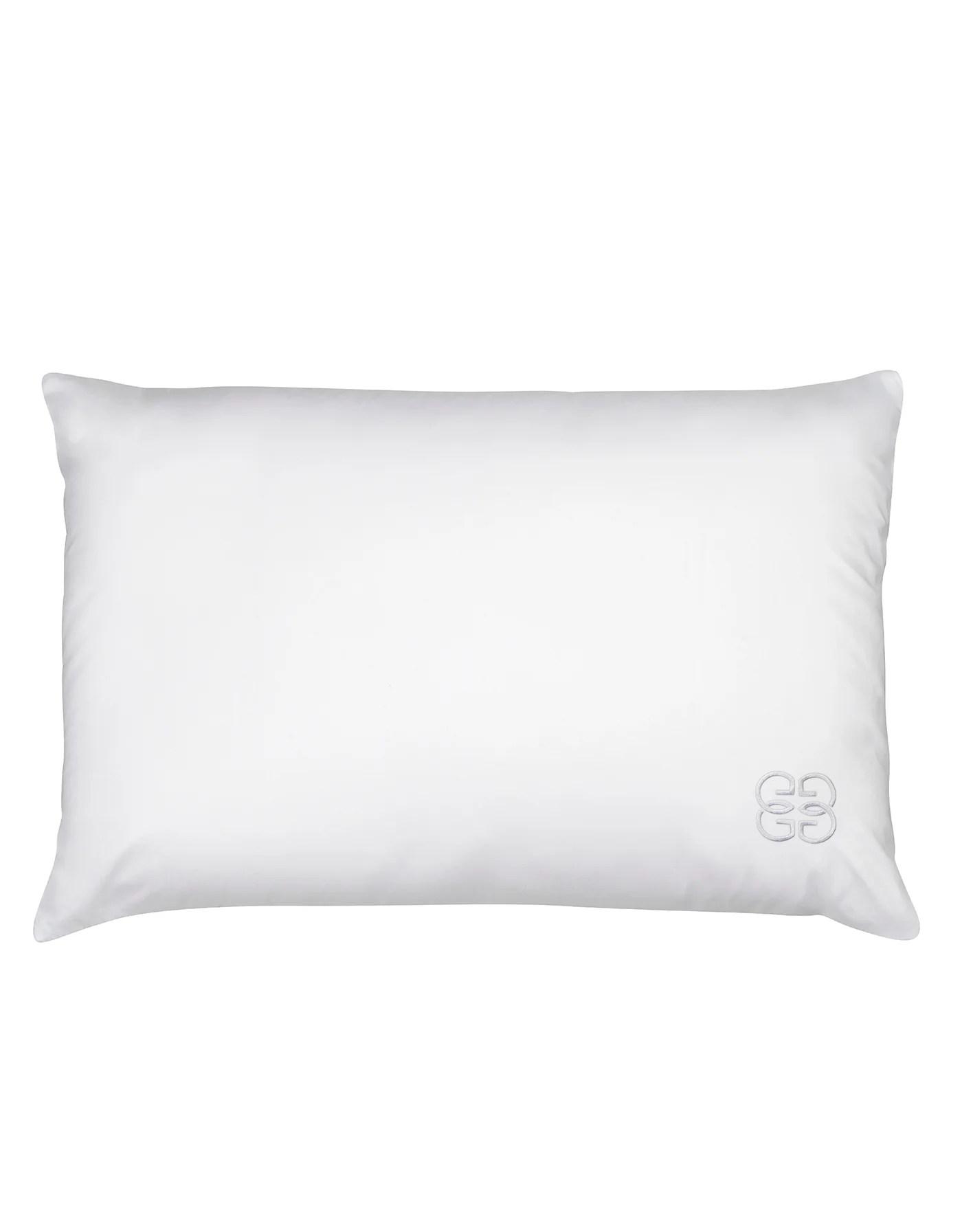 100 silk filled pillow