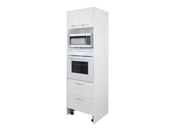 2 door tall oven microwave tower