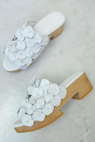 Beklina Floral Tétouan Clog White