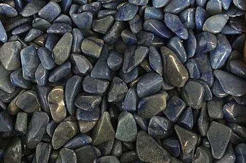 Extra Large Blue Quartz Tumbled Stone - 1 Piece - The Crystal Healing Shop
