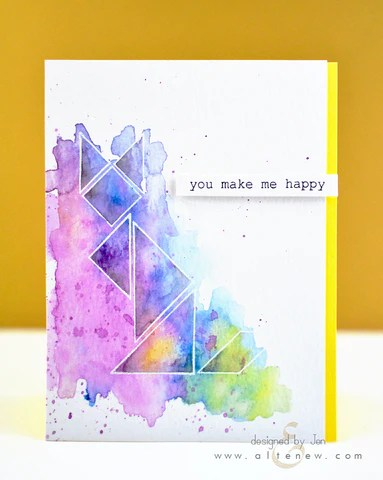simple shapes card 5