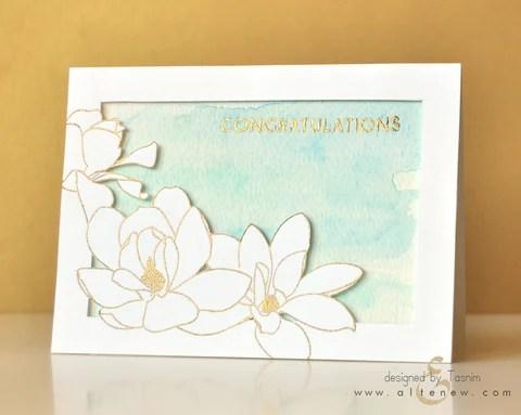 Magnolia card 1