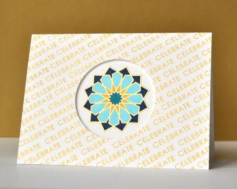 Dodecagram card
