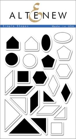 simple shapes stamp set