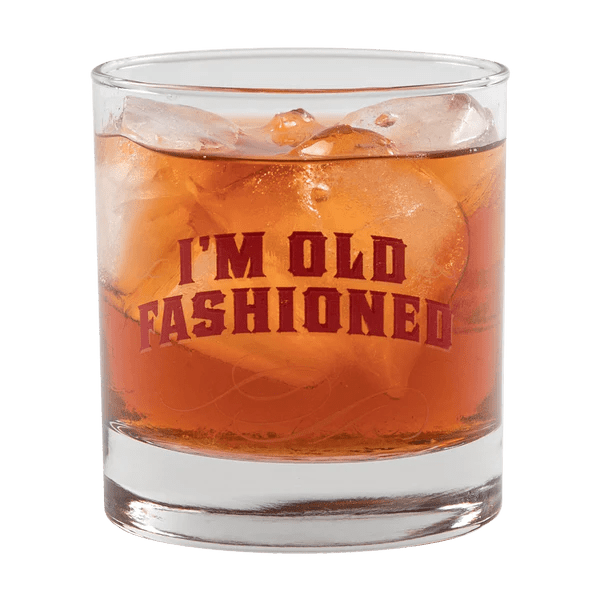 I'm Old Fashioned Cocktail Glass