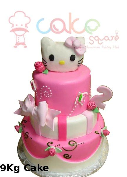 Hello Kitty Cake Square Chennai
