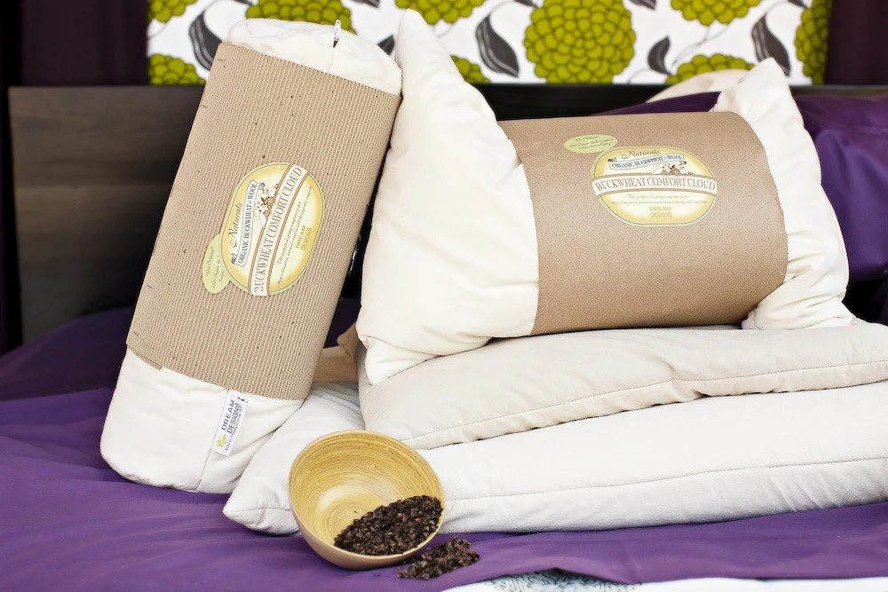 buckwheat hull pillow organic pillows