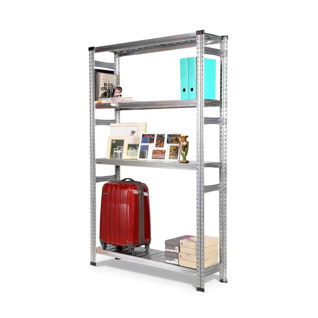 Boltless Storage Rack Silver