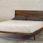 Platform Bed Mid Century Solid Wood Handmade Modern Bedroom Furniture T Y Fine Furniture