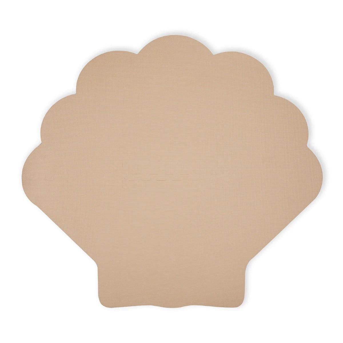 tapis de jeu puzzle en mousse coquillage sable