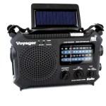 Black Kaito KA500 Voyager Solar Radio