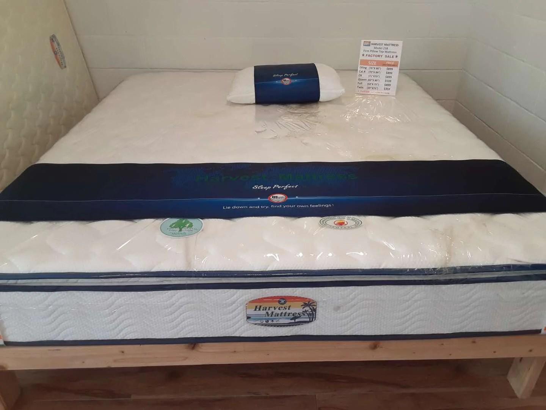 firm pillow top mattress model 238
