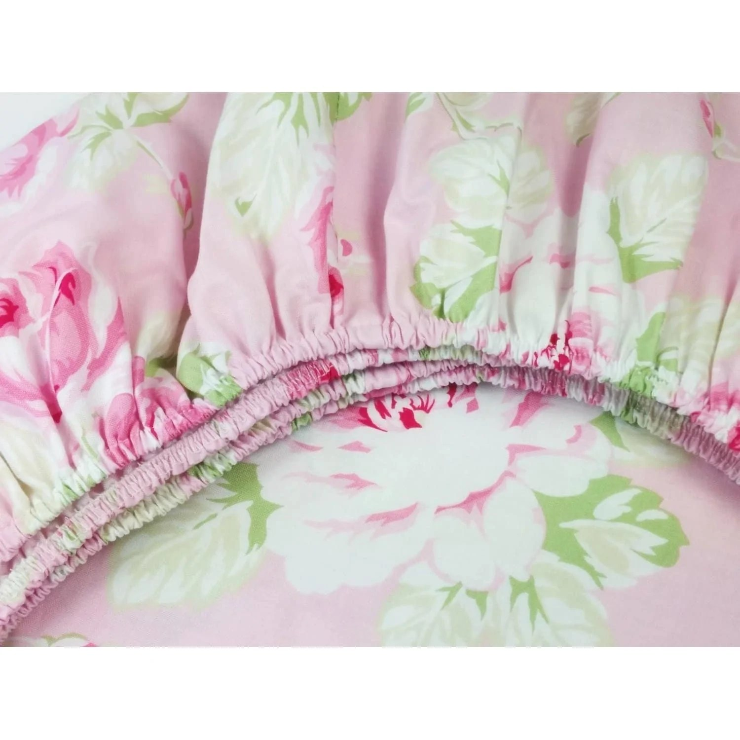 vintage shabby chic roses floral pink