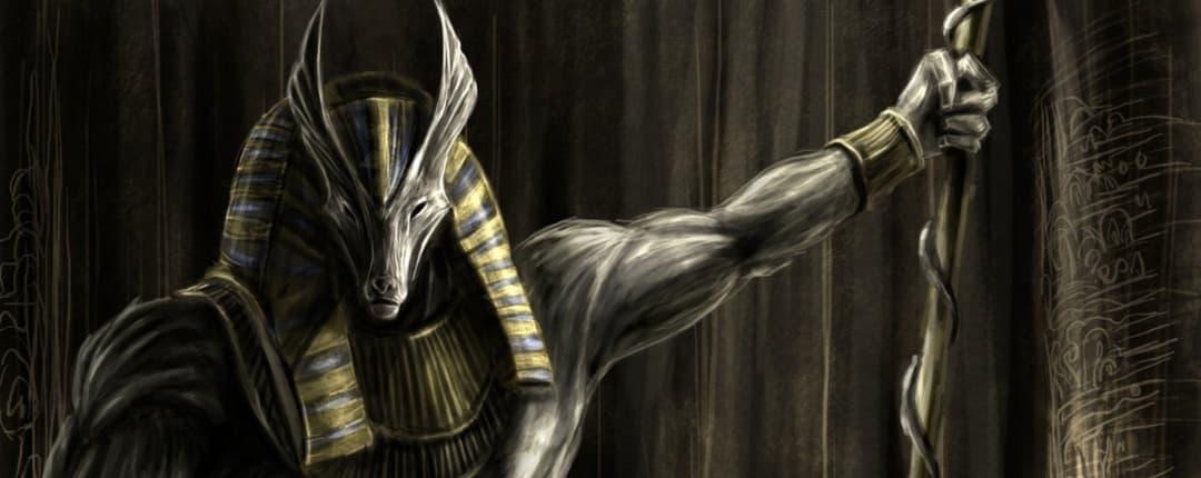 Anubis Egyptian God of Death