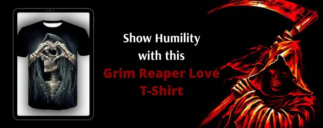 Grim Reaper Love T-Shirt Offer