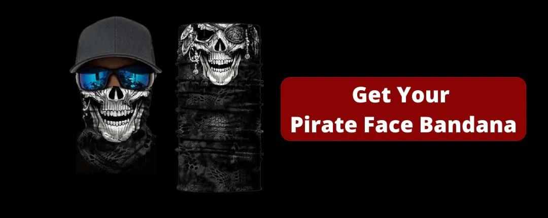Pirate Face Mask Bandana Offer
